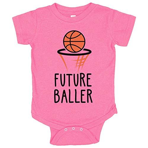 Balón De Baloncesto Rosa  marca FunnyThreadz