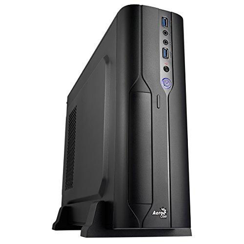Aerocool CS-101 - Caja de Ordenador (PC, Superior, 1x 80 mm, Micro-ATX, Mini-ITX, Negro)