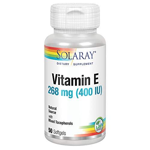 Solaray Vitamin E 400 IU | 50 Perlas