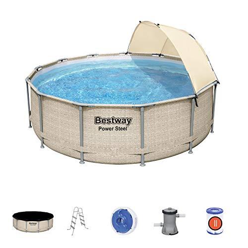 Bestway 5614V Power Steel 13' x 42'/3.96m x 1.07m Pool Set