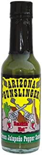 Arizona Gunslinger's Green Jalapeño Pepper Sauce (1) 5 oz.