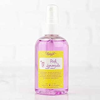 Pink Lemonade Scented Moisturizing Body Spray Oil for Women - 4 oz