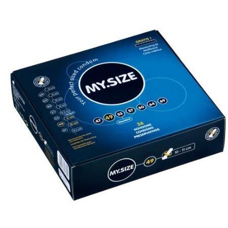 Mijn maat Condooms 49mm x36 Slim Trim Kleine Condooms (Duitse Engineering op zijn best)