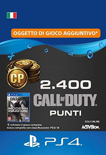 Call of Duty : Modern Warfare 2400 Points | Codice download per PS4 - Account italiano
