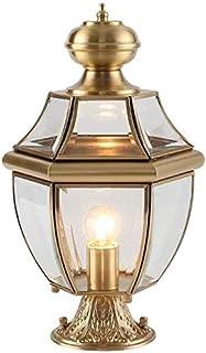 Mopoq All-copper Headlight Wall Light Outdoor Patio Light Villa Waterproof Home Door Post Lamp Retro Industrial E27 Lighti...