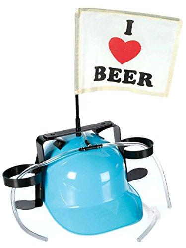 Bada Bing Casco de cerveza, color azul