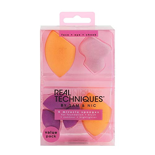 Real Techniques Miracle Complexion Sponge, 6-Piece