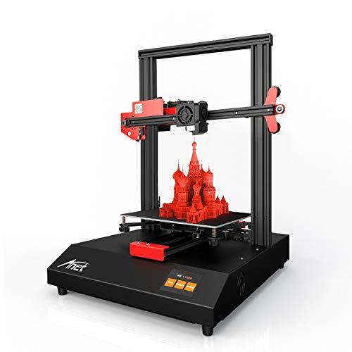 Impresora 3d Anet ET4, Actualización de Alta Precisión con 2.8' Pantalla Táctil, Tamaño de Impresión 220 * 220 * 250mm con Función de Nivelación Automática