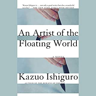 An Artist of the Floating World audiobook cover art