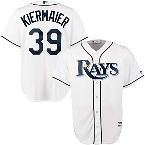 Kevin Kiermaier Tampa Bay Rays Youth Cool Base Home Replica Jersey (Large 14/16) White