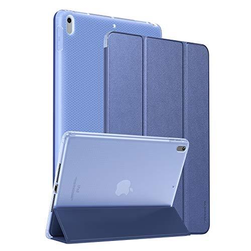 SmartDevil Custodia per iPad Air 3 2019/ Custodia per iPad PRO 10,5 2017 con Funzione di Supporto e Auto Svegliati/Sonno, Leggero e Sottile Cover per iPad PRO 10,5/ Cover per iPad Air 10.5 Blu