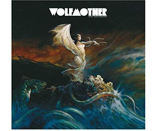 Sanwooden Wolfmother Album Poster Cover Poster und Drucke Wandkunst Leinwand Bilder Für Wohnzimmer Home Decor Geschenk -60x60cm No Frame