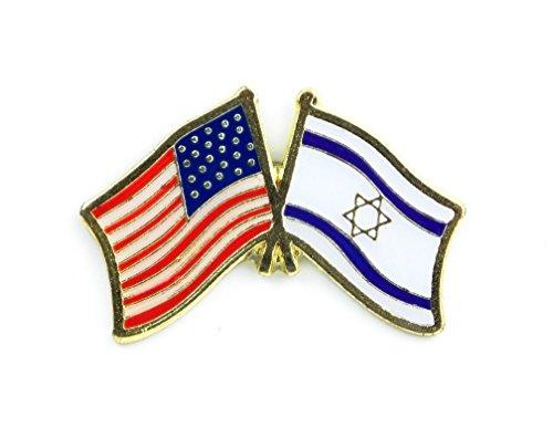 USA Israel Freundschaft Flagge Anstecknadel
