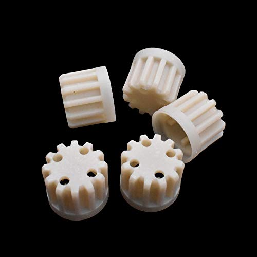 ADUCI 5X de Engranajes de plástico reemplazos for Axion máquina de Picar Carne Recambios del hogar máquina de Picar Carne de Engranajes de plástico