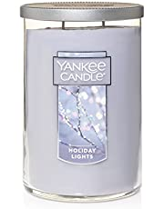 Yankee Candle Large Jar 2 Wick Holiday Lights Scented Tumbler Premium Grade Candle Wax with up to 110 Hour Burn Time