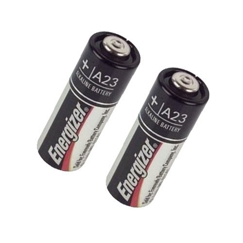 Energizer A23 Battery Compatible with Eveready A23 Battery Combo-Pack Includes: 2 x A23 Batteries - Repack