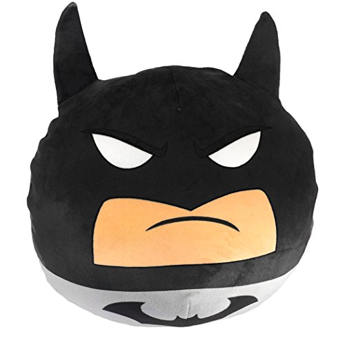 Warner Brothers DC Comic Batman, Grey Detective Cloud Pillow, Standard