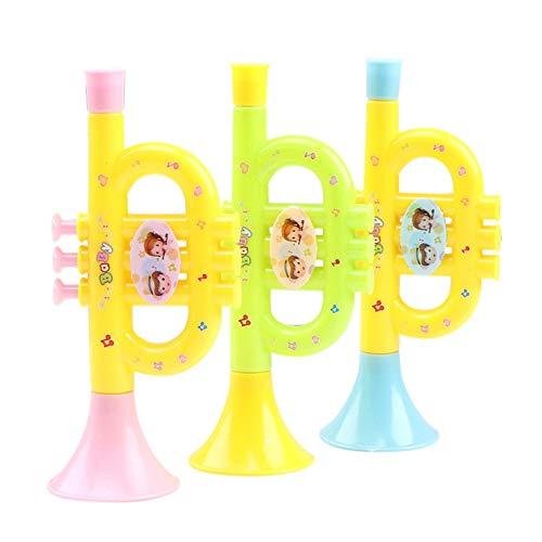 Bebliss Kinder Baby Lustige Spielzeug Für Jungen Mädchen Bunte Horn Hooter Trompete Instrumente Musik Bildung Spielzeug