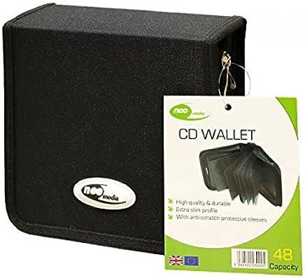 Neo Media Nylon Carry Case for 48 CD - Black