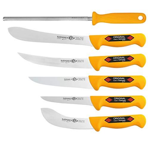 Solingen 3571 G - Juego de 6 cuchillos de carnicero