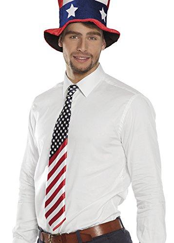 Magic Box Int. Mens Sternenbanner USA Krawatte