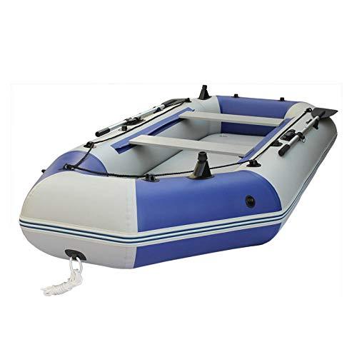 Fnho Opblaasbare rubberboot vlotboot,Opblaasbare roeiboot,Barco de Pesca con Red Resistente al Desgaste, Kayak de Fondo Duro-2.05M