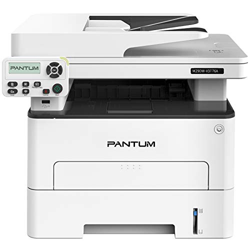 All-in-One Monochrome Wireless Laser Printer, Duplex Printing, Auto Document Feeder& Print Copy Scan Speed up to 34 PPM Pantum M29DW (V3T76A)