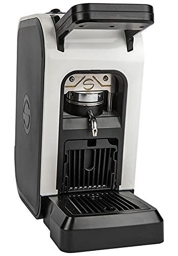 Offerta SPINEL CIAO colore BIANCA Macchina da Caffè a cialde ESE 44mm filtro carta + kit assaggio Emporio del Caffè