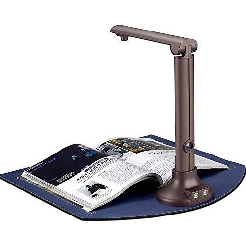 Best Buy! Scanners Book & Document, 8MP High Definition Portable Document Camera, Auto-Flatten & Des...