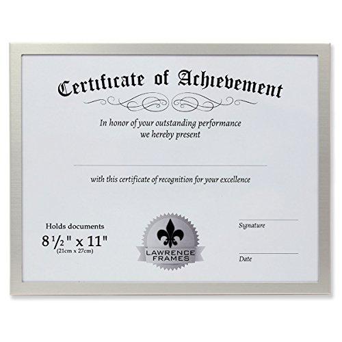 Best certificate frame aluminum for 2021