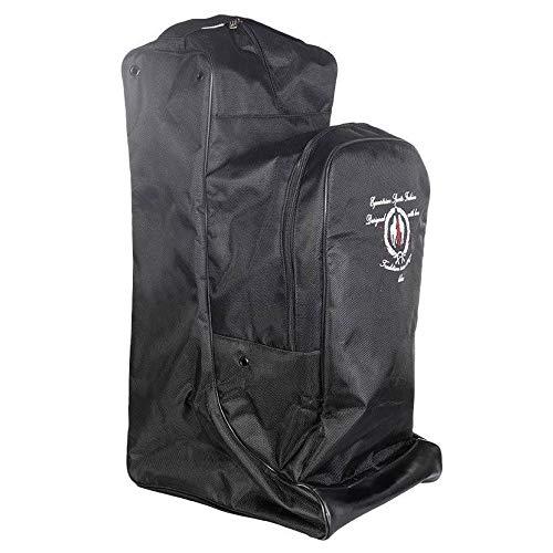 HKM SPORTS EQUIPMENT Stiefeltasche mit Helmfach, schwarz 1038791000001_Black_One Size, rückenlänge 165 cm