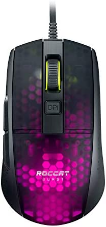 ROCCAT Burst Pro Extreme Lightweight Optical Pro Gaming Mouse, Black