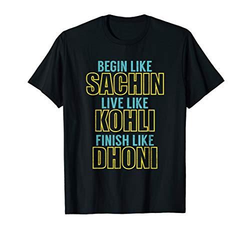 Indian Cricket Team Supporter Jersey T-Shirt