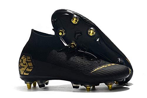 Botas de Fútbol Zapatos de Entrenamiento Zapatos de Fútbol Botines de Fútbol Botas de Fútbol Profesionales Hombres/Niños Zapatos de Fútbol para Adultos Prado Torneo de Fútbol Antideslizante Botas d