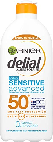 Garnier Delial Sensitive Advanced Leche Solar para Pieles