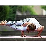 Opprxg Pantalones de Yoga Deportivos de Cintura Alta de Cintura...