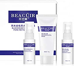 BEACUIR Blackhead Acne Removal Activated Carbon 3 Steps Mask Set My Scheming Deep Cleansing Narrowing Pores