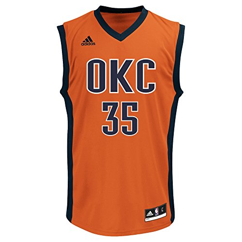 adidas Men's Replica Player Jersey NBA Replica Player Jersey, Orange Swingman (2)