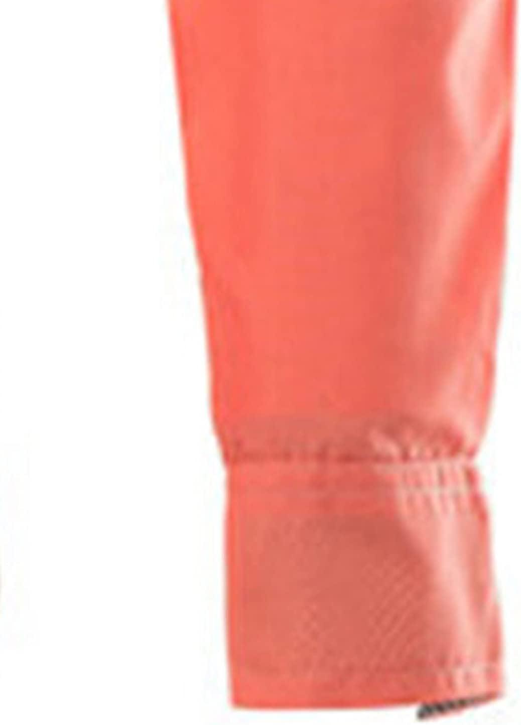 Men's Business Lapel Dress Shirt Slim Casual Fashion Plus Size Shirt for Men Regular Fit Long Sleeve Button Down Shirts (Orange,3X-Large)