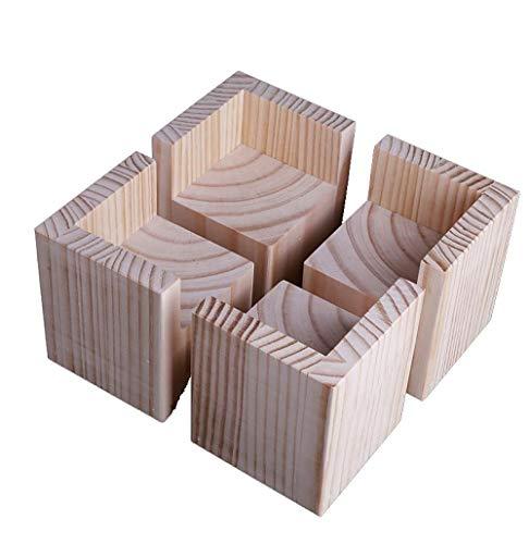 Heavy Duty Furniture Risers, erhöhung für möbel holz,Bed Riser, Erhöhung Für Sofa Height Increase, Pine, Increase 10Cm