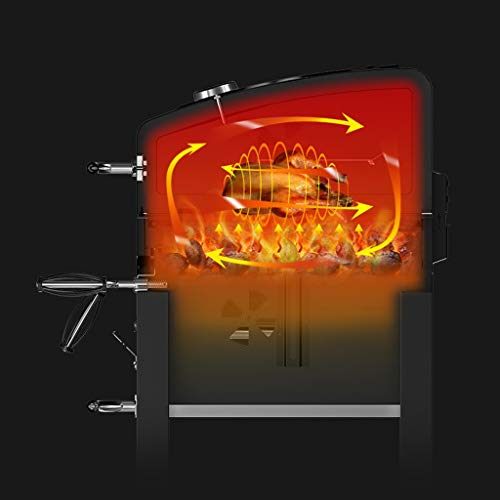 41nozFs3dmL - ChangDe - Weber Holzkohlegrills BBQ Grill - Verdicken Sie tragbare Grillhausgarten Holzkohle große kommerzielle rauchlose Grillauto im Freienvilla