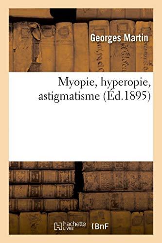 Myopie, hyperopie, astigmatisme