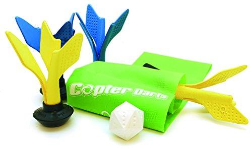 Schildkröt Funsports Ogo Sport Micro-Copter Darts, grün / gelb / blau, 970099