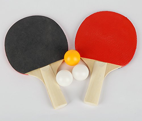 Discover Bargain hlc 60'' Midsize Table Tennis Table with Bat and Balls for Junior