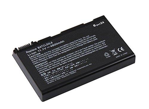 4400mAh Batterie de Remplacement Ordinateur Portable pour Acer Aspire 3100 3690 5100 5110 5610 5630 5650 5680 9110 9120 TravelMate 2490 3900 4200 4260 4280
