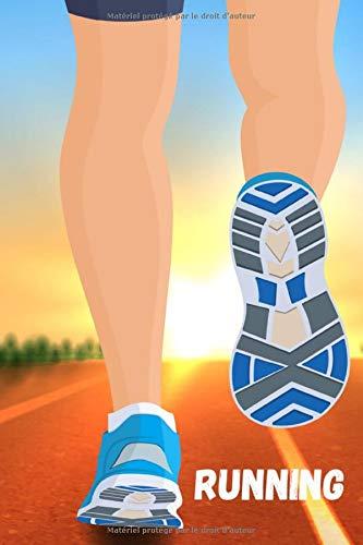 Running: carnet Running à remplir  pour vos entrainements de course à pied | Hommes Femmes | 89 pages |  15,24 cm x 22,86 cm