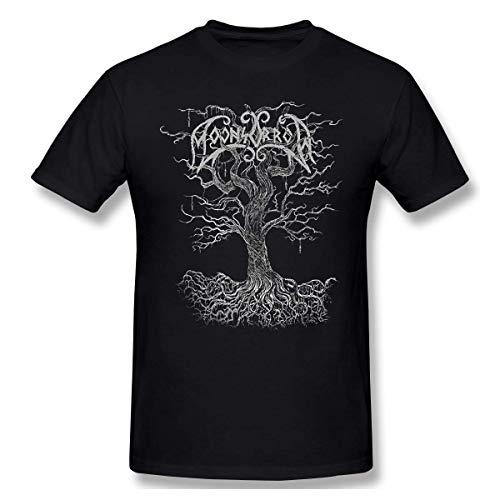 Moonsorrow Jumalten Aika Casual Design T-Shirt for Man Black,5X-Large