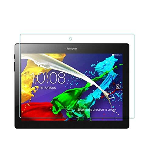 INSOLKIDON 2-Pezzi Compatibile con Lenovo Tab3 10 Plus Tablet Vetro Temperato Film Copertina Completa Chiarissimo 3D Proteggi Schermo Lenovo TB3-X70F TB3-X70N (Trasparente)