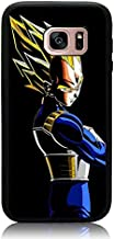 Galaxy S7 Case, Dragon Ball Z Vegeta Dark Print Cover Soft TPU & Hard Back Shock Drop Proof Impact Resist Protective Case ...