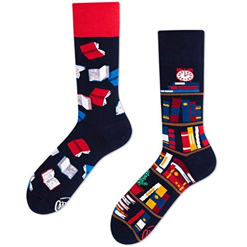 Many Mornings unisex Socken The Book Story (39-42)